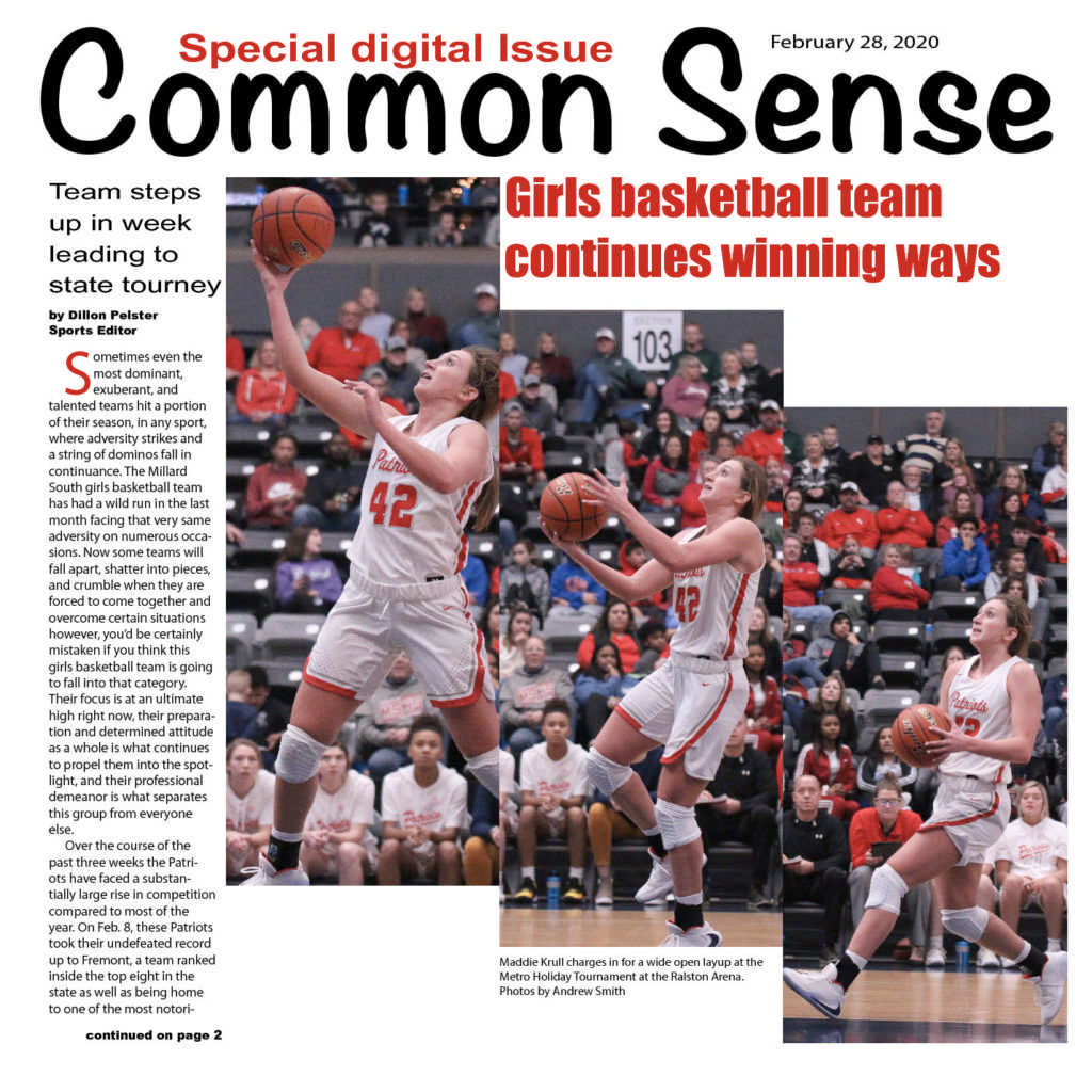 Featuring Patriot Girls Basketball
