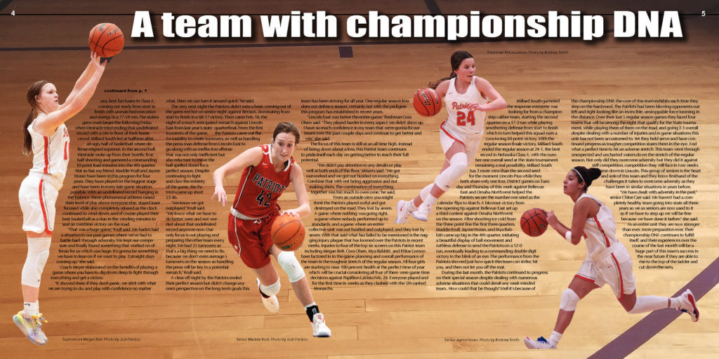 Special Girls Basketball Issue p4-5