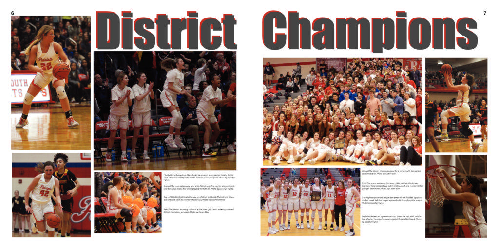 Special Girls Basketball Issue p6-7